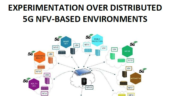 Experimentation over Distributed 5G NFV-based Environments. The 5GINFIRE White Paper on Experimentation – submitted TMV 5G PPP WG – https://zenodo.org/record/3568721 #5GPPP  #NFV #5G #5Gvinni