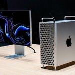 Image for the Tweet beginning: Disponible, le nouveau Mac Pro