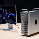 Image for the Tweet beginning: Disponible, le nouveau Mac Pro
