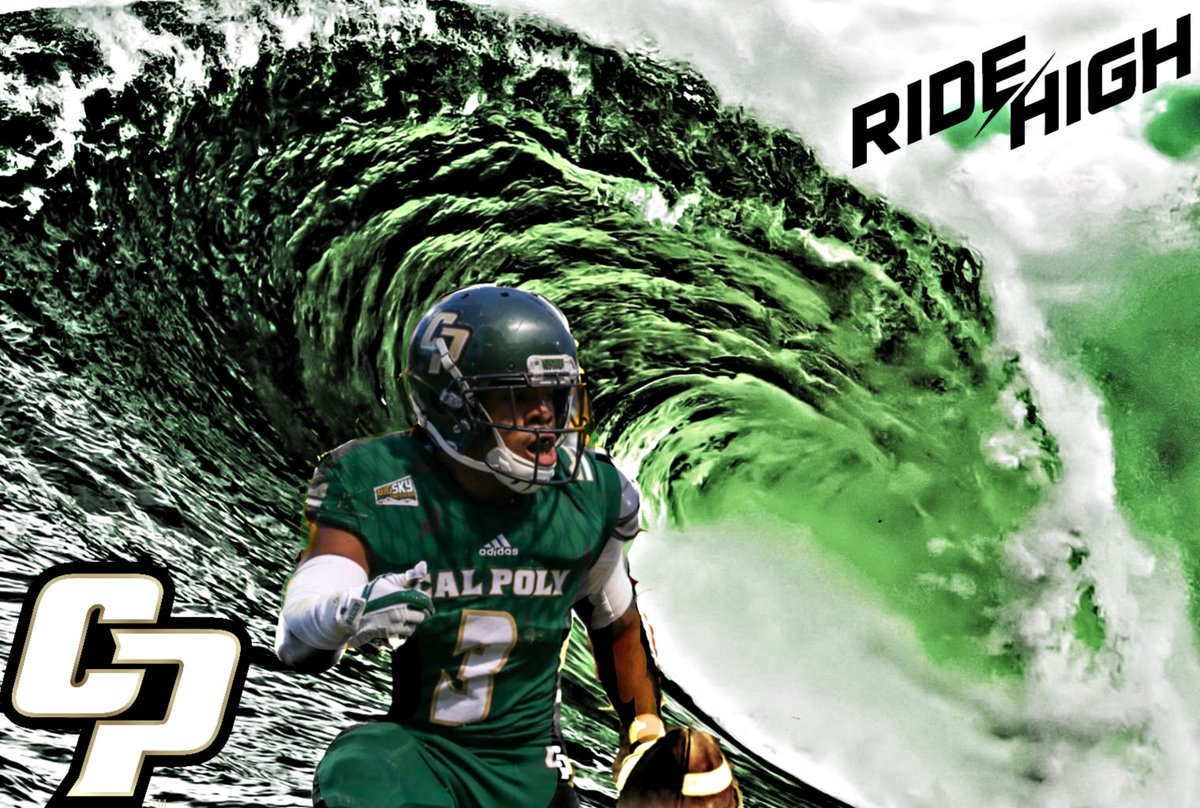 #RIDEHIGH on a new wave @calpolyfootball https://t.co/0cthff87Q7