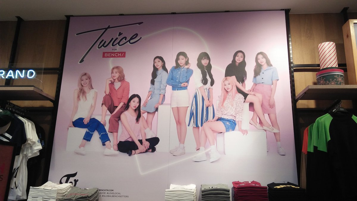 They're here!  @ BGC  @benchtm #TWICEforBENCH #Twice #TWICExBENCH <br>http://pic.twitter.com/GP5rlSCG2k