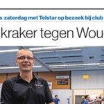 In #AD Amersfoort: Pikante kraker tegen @kvwoudenberg. Daan van der Klis zaterdag met @KVTelstar op bezoek bij club waar hij opgroeide #korfbal