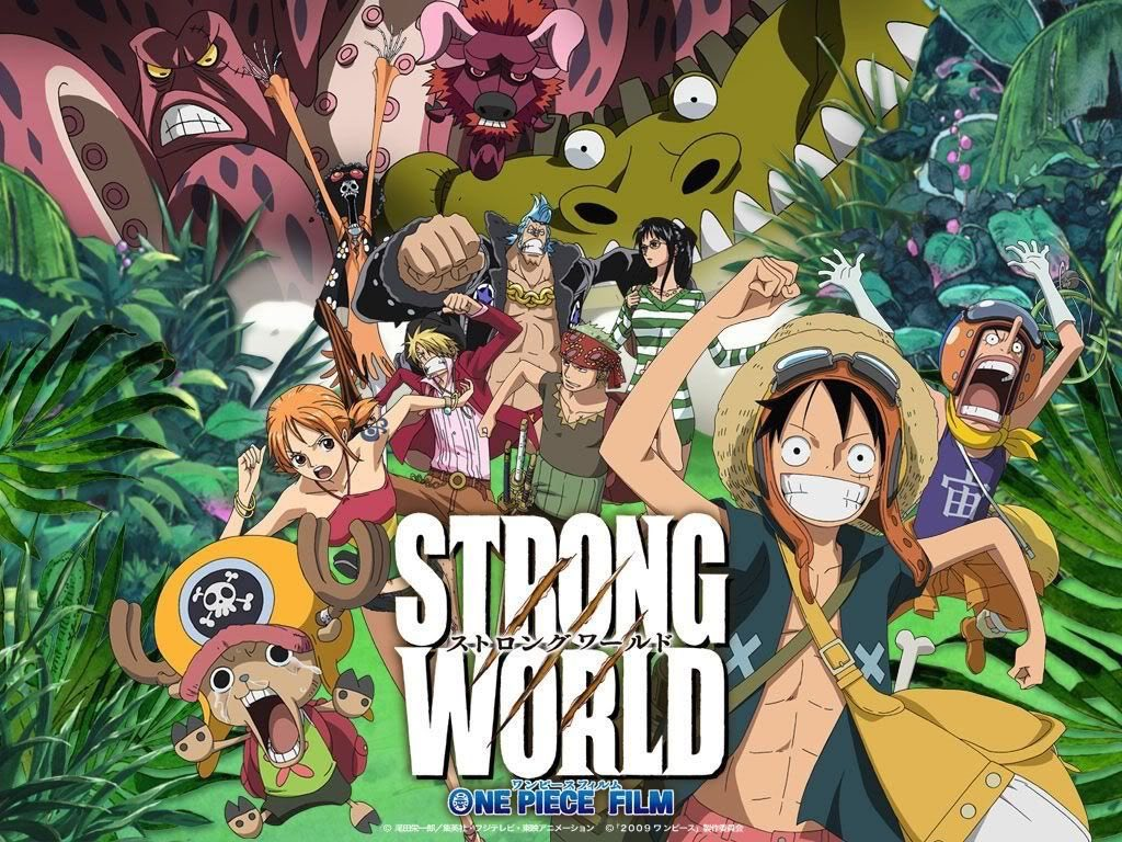 Onepiecestrongworld Hashtag On Twitter