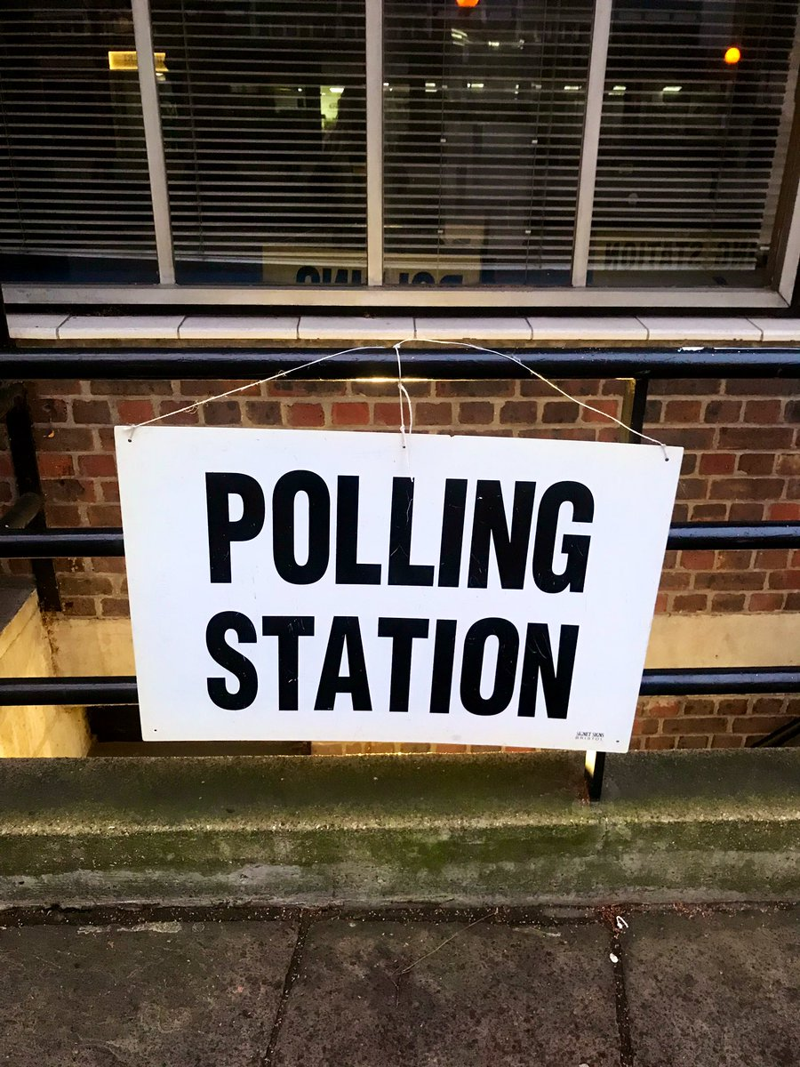Happy #GeneralElection2019 🗳 Make sure you head out today to vote!