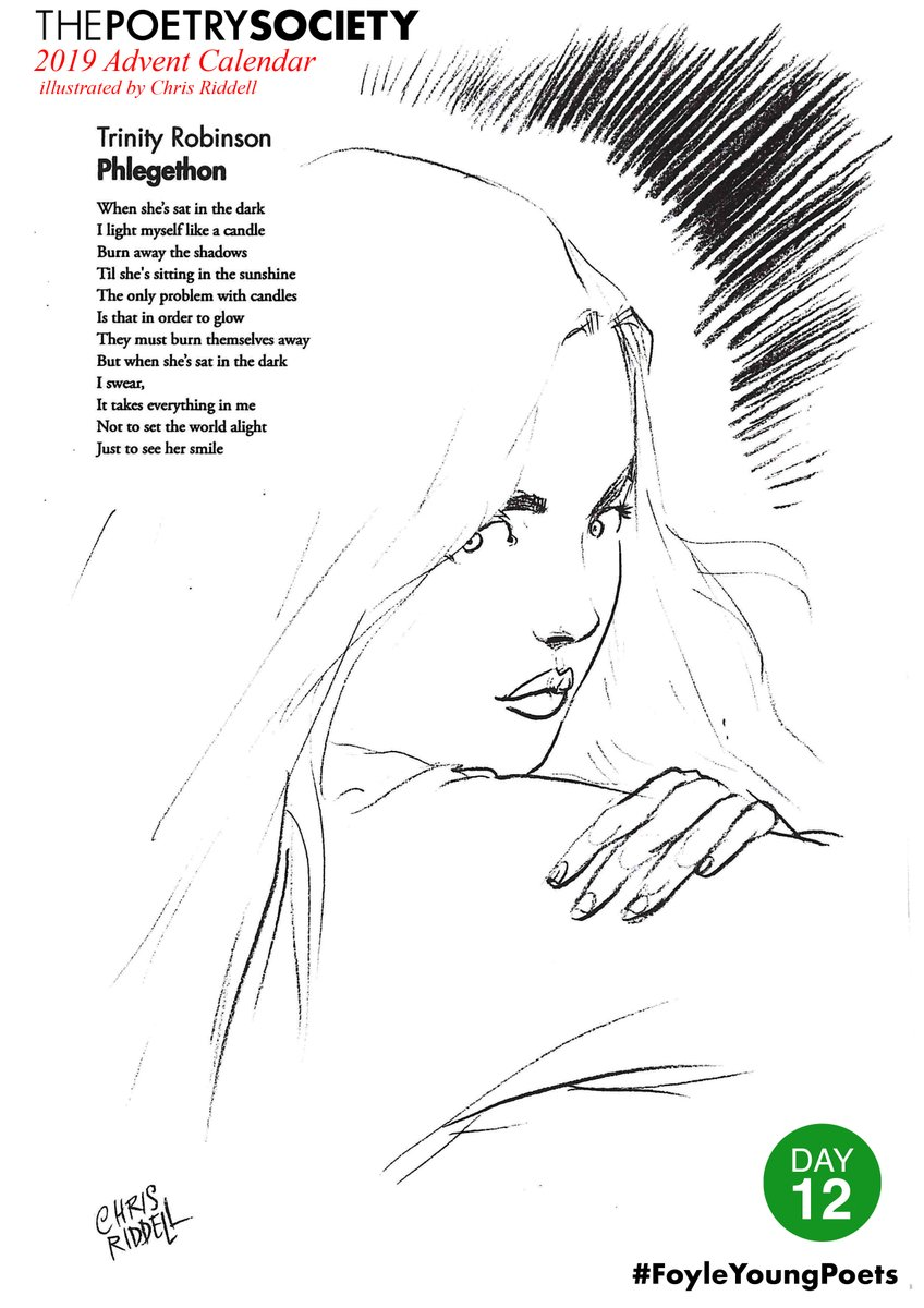 """test Twitter Media - """"The only problem with candles Is that in order to glow They must burn themselves away""""  Day 12 for the #FoyleYoungPoets Advent Calendar and  Trinity Robinson sets the world alight with 'Phlegethon' @youngpoetsnet @chrisriddell50 https://t.co/PZ4GhjLY6I"""