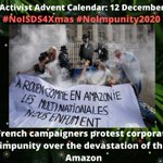Image for the Tweet beginning: #NoISDS4Xmas calendar 12 Dec: French