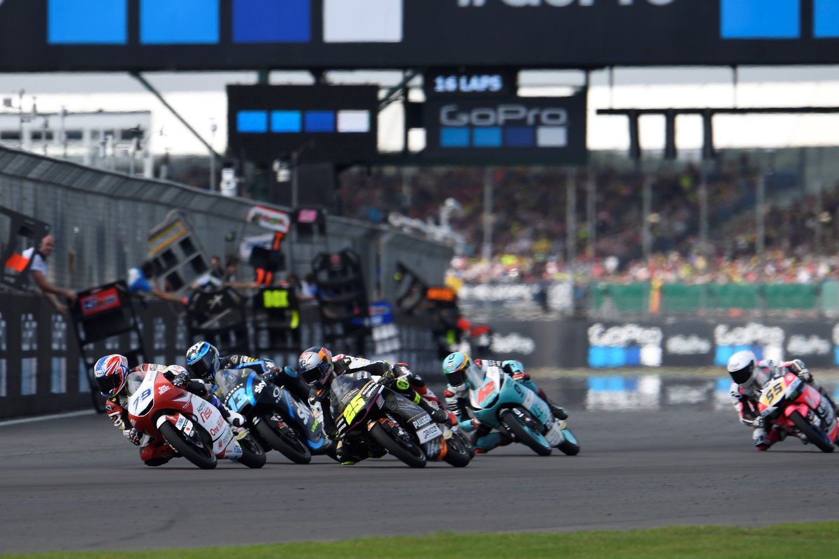 #Review2019 Rd12 #BritishGP @AiOgura79 lead a #Moto3 race for the first time, in a long and hot race on a challenging circuit as Silverstone<br>http://pic.twitter.com/FhoCyZapdI