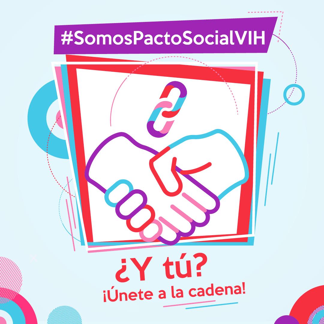 test Twitter Media - 🤝Nosotros ya #SomosPactoSocialVIH ¿Y tú?  @TrabEnPositivo, únete a la cadena del @PactoVih  Por un Pacto Social por la no discriminación y la igualdad de trato asociada al #VIH  Súmate al #PactoVIH aquí➡️  https://t.co/eKhkrYrZRT https://t.co/SDxVV5EosM
