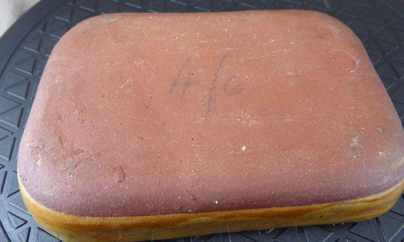 Winchcombe Pie Crust Rim slipware 14cm dish. AH potter's mark? ELl08HKXsAAa4Rz?format=jpg&name=900x900