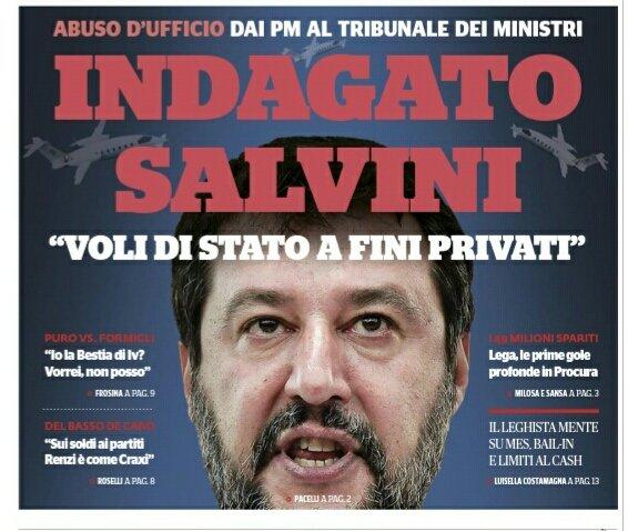 #Salviniindagato