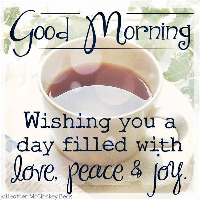 Wishing you a day filled with love, peace & joy #powerofpositivity #Morningquotes <br>http://pic.twitter.com/UBlqVPCLC8