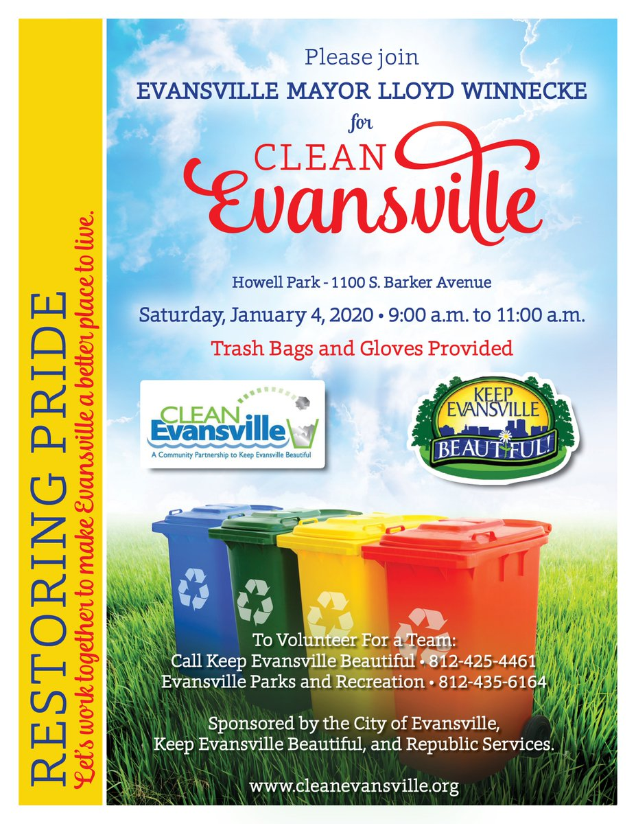 Evansville Home Show 2020.Evv Parks And Rec On Twitter We Had A Successful Clean Up