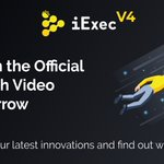 Image for the Tweet beginning: The team behind iExec all