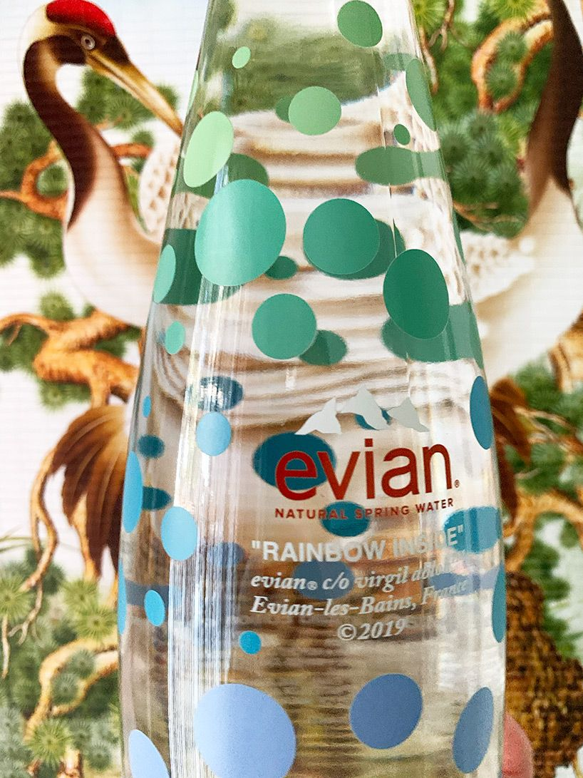visitors to @DesignMiami this year had the chance to get their hands on the #virgilabloh-designed @evianwater bottle  https://www. designboom.com/design/virgil- abloh-glass-evian-bottle-design-miami-12-11-2019/  … <br>http://pic.twitter.com/1k8Ug6K4s5