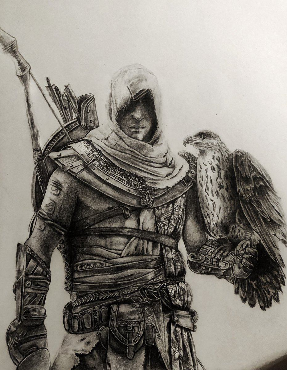 Assassin S Creed On Twitter We Re Continuously Amazed By The Talent Of This Community Check Out This Incredible Bayek Drawing By Sycaphany Acfinest Https T Co Keh5bkmlwu