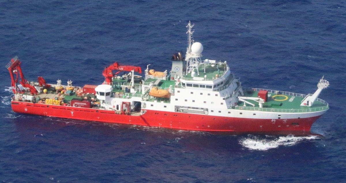 中国の国家主席来日について様々な意見がある中、昨日より中国の違法な海洋調査が行なわれています。できるだけ多くの方に状況をお伝えしたく、海上保安庁広報をご紹介します。是非ご覧になってください。 https://www.facebook.com/permalink.php?story_fbid=1237675013084384&id=100005256916522…