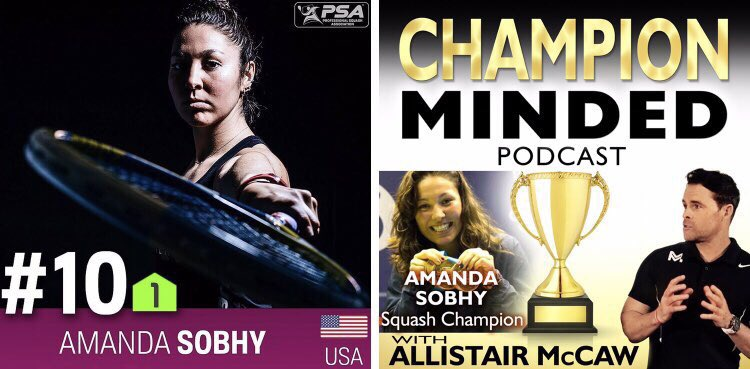 "test Twitter Media - ""My time away from the game gave me a different perspective, not only about Squash, but about life."" @itssobhytime  Ep.16 of the #ChampionMinded🏆 podcast with 4x 🇺🇸#Squash Champion, former World Junior Champion & @PSAWorldTour nr.7 AMANDA SOBHY. https://t.co/3aBIy3DTNA https://t.co/HxXeo1Y2ar"
