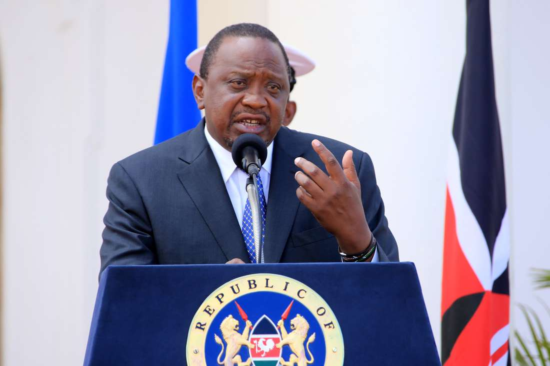 PRESIDENT KENYATTA directs National Treasury and Ministry of Housing to initiate amendments to Finance Act, 2018 to make housing levy voluntary.