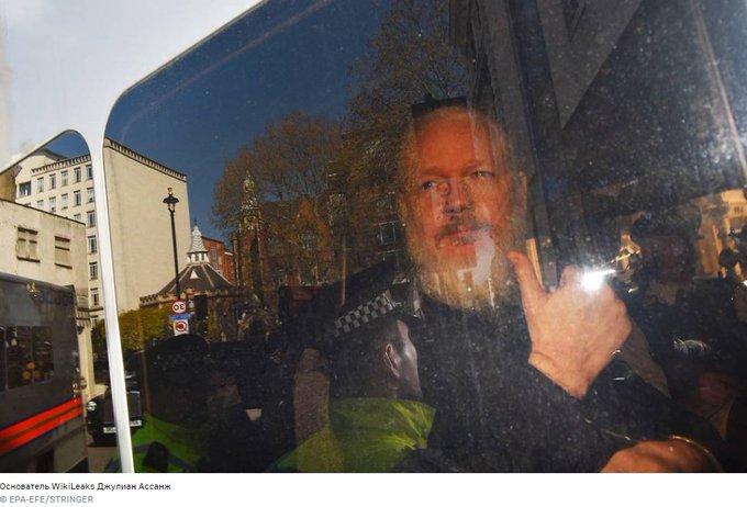 #Zajárova: Londres hace caso omiso de la amenaza que se cierne sobre la vida y la salud de J.Assange. La situación creada en torno a él testimonia la violación por el mundo occidental de todas las leyes y reglas imaginables que garantizan la libertad y seguridad a los periodistas
