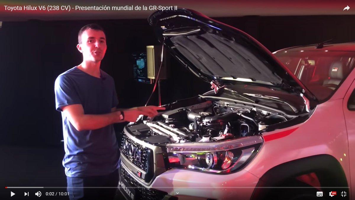 🙋♂️ @facujgarcia nos muestra la nueva 🚙 #pickup #ToyotaHiluxV6 La vemos ⏩  @ToyotaArgentina 💻#scanners #SPCMax #SPCTruck #Aftermarket #repuestosautomotor @condistelec 🔧 #tallermecánico 🚘 #autos 🇦🇷#Argentina @gpstaller ⛽ #BuenJueves 🙋♂️🚙🚘