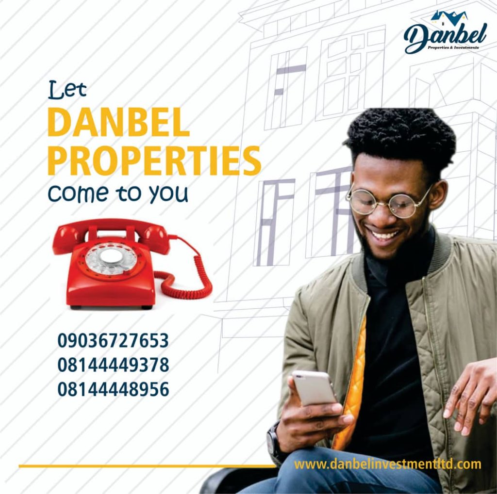 "Reach out to us today @ Danbel Properties And Investments Ltd  Do the needful today & you won't regret you ever did! ""Think investment Think realestate ""  Website :  http://www. danbelinvestmentltd.com       Email:info@danbelinvestmentltd.com  #Danbel<br>http://pic.twitter.com/ISfEI1pTxd"