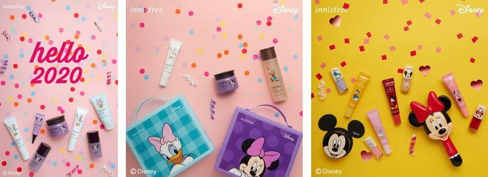 ディズニーデザインのかわいいコスメ!イニスフリー「ディズニーコレクション」2020年1月1日より発売ミッキー、ミニー、ドナルド、デイジーにグーフィー、プルートも☆詳細→