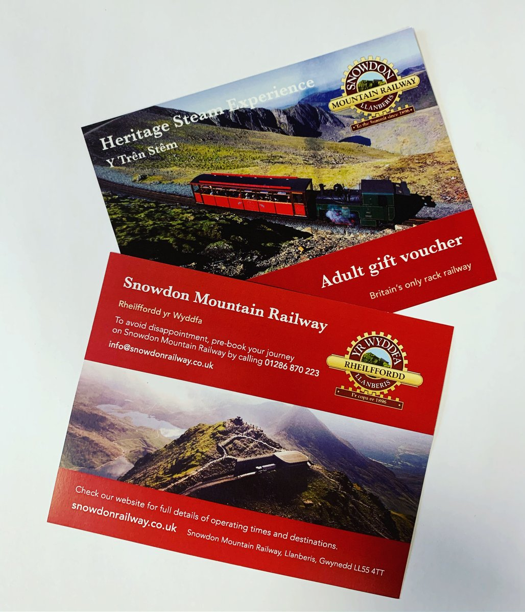 test Twitter Media - The perfect #Christmas present🎄  Gift vouchers for our Heritage Steam Experience & Traditional Diesel Service!  Call 01286 870 223 (Mon-Fri 8:30am-4pm) before the 13th December for delivery in time for #Christmas  #ThursdayMotivation #ChristmasCountdown #Christmas2019 https://t.co/1sgrY7iPtn