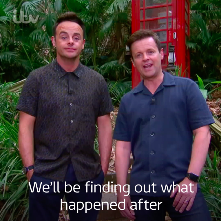 After three weeks of rice, hammocks and the creepiest of crawlies, find out what happened when the Campmates left Camp 👋🕷🐛 I'm A Celebrity… Get Me Out Of Here! Coming Out. Tonight 9pm @ITV #ImACeleb @ImACelebrity @AntAndDec