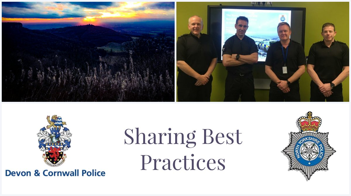 @DC_Police #RuralCrime Officers have come up to #NorthYorkshire to see how an established rural team operates. It's been really useful to pick up good ideas, see #BestPractice & how their #RuralTaskForce operates. Thanks to @NYPRuralTF for hosting us. #RTF #RuralCrimeMatters