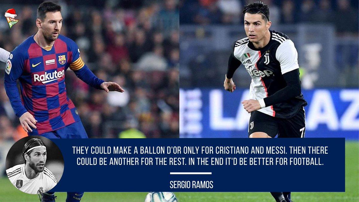 Really?🤔 #Barcelona #RealMadrid #ElClasico #Messi #CristianoRonaldo #BallonDor https://t.co/Amjs9um88i