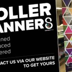 Image for the Tweet beginning: Get your roller banners designed