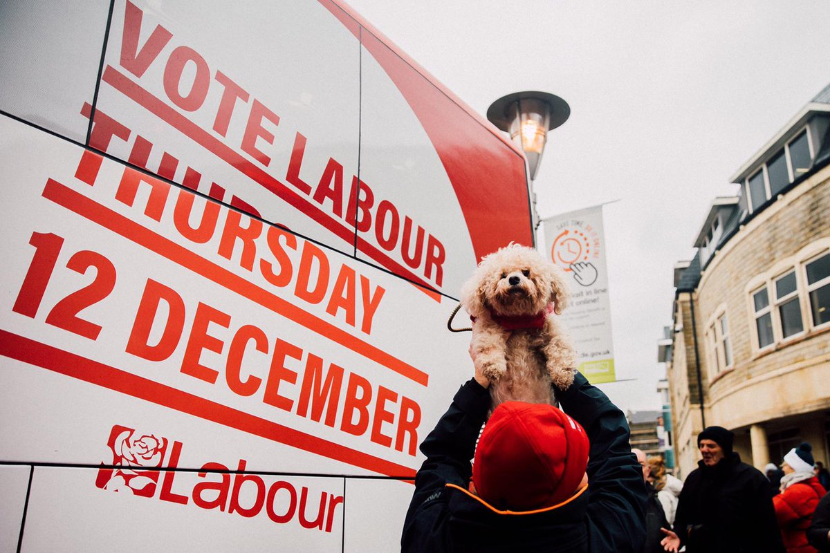 Real change is paw-sible. You know what to do. #VoteLabourToday