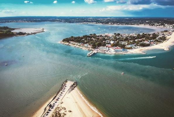 Beautiful photo of Sandbanks.    lee_dimarco_photography on IG. <br>http://pic.twitter.com/tSYn5DUxch