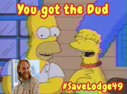 Happy Thursday!!  #SaveLodge49 #Lodge49 #WeNeedTheDud #LynxForLife 😀♥️🍋🍩☕🦈🌊🍺