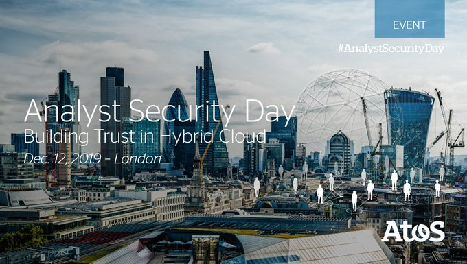 Today we are welcoming Industry #Analysts to the Atos Analyst #Security Day in London...