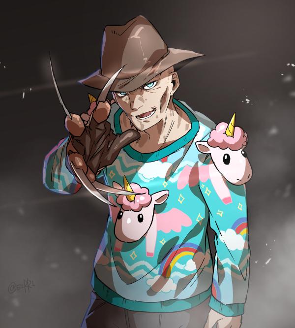 フレディ VS ダサいセーター