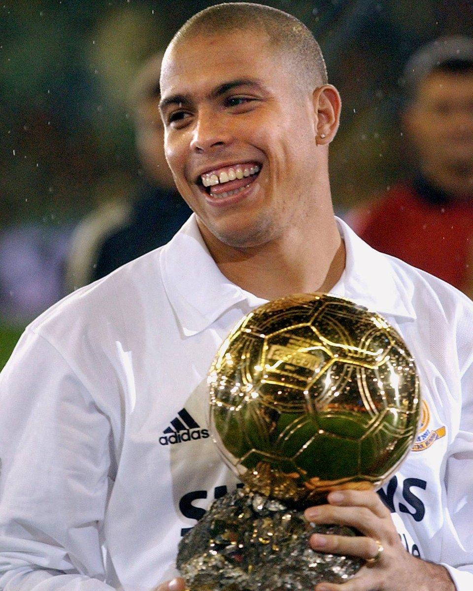 RT @brfootball: On this day in 2002, Brazil and Real Madrid legend Ronaldo won the Ballon d'Or 🇧🇷🙌 https://t.co/jMz588oGw3
