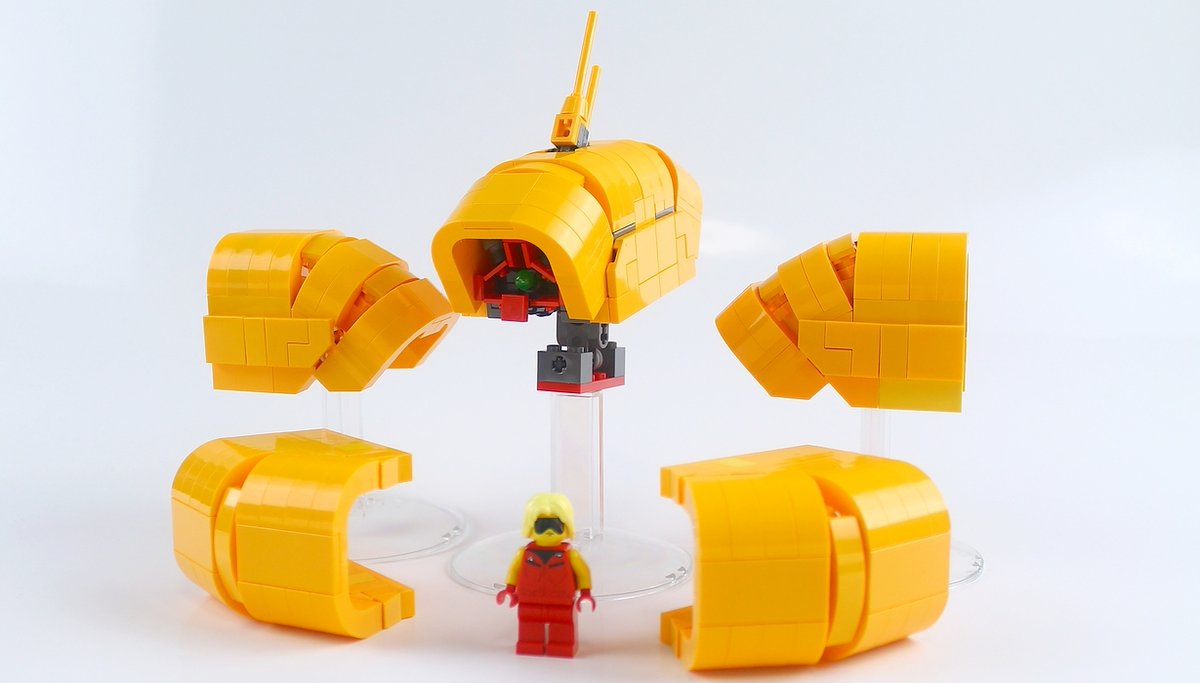 アッシマー制作② : レゴ道
