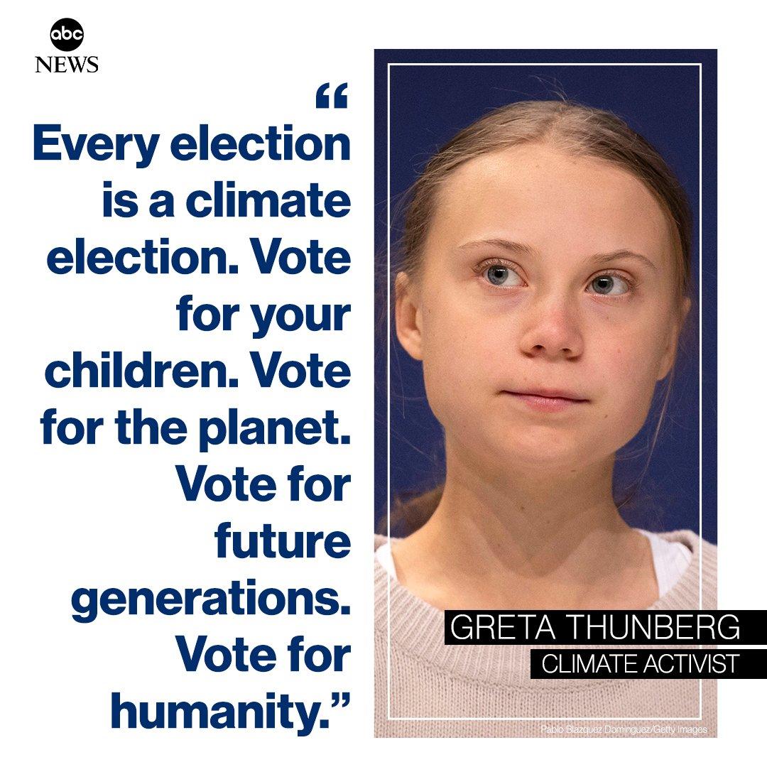 @ABC's photo on greta thunberg