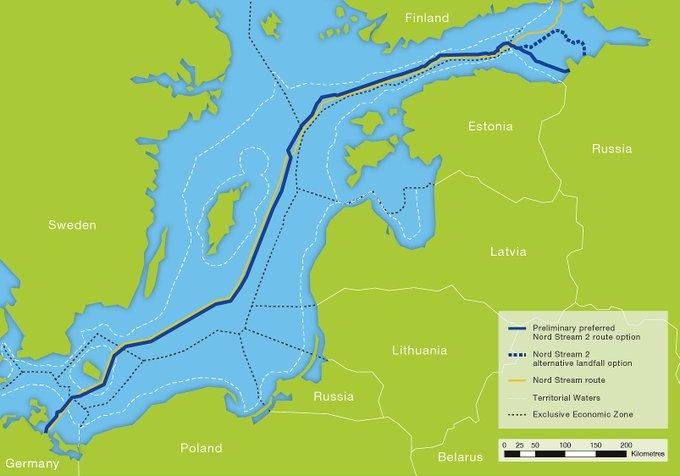#ABD , kısa süre sonra #NordStream2  ve dolayısıyla #Almanya ya yönelik yaptırımları uygulamaya geçirmeye hazırlanıyor. Alman-Rus Ticaret Odası, hükumetlerine, ABDnin bu yaptırımlarına yaptırımlarla karşılık verilmesi çağrısında bulundu. #doğalgaz