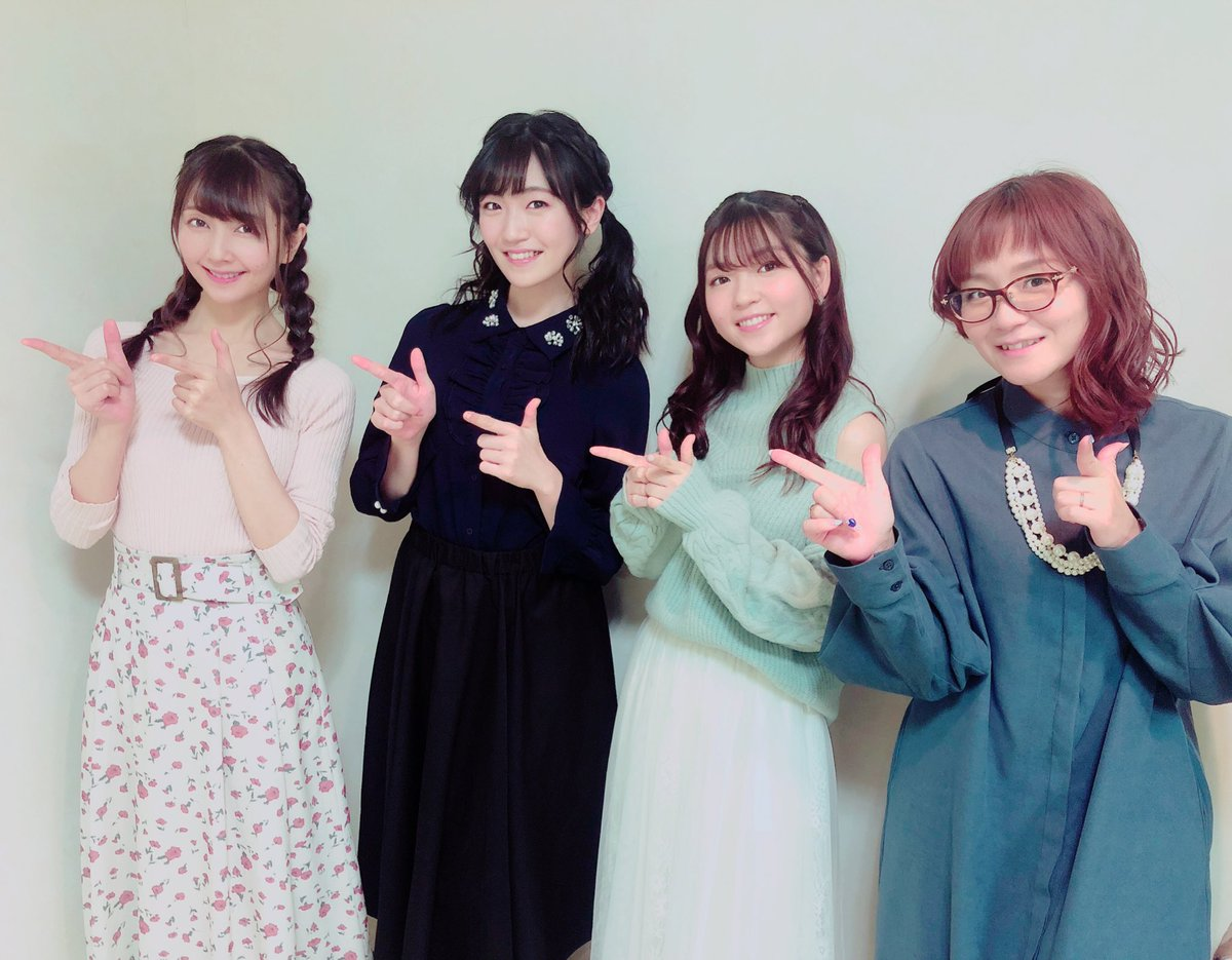 パスパレメンバーで...「必殺アイドルポーズ☆」✨💓💚#バンドリ #ガルパ #パスパレ