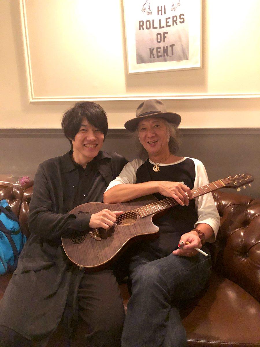 フェンダーのパーティーにて、このお方とセッションさせて頂きました。ギターと言えばChar Charと言えばギターやっぱすげーかっこよかったな〜🎸