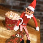 Image for the Tweet beginning: HOT CHOCOLATE & GINGERBREAD MAN