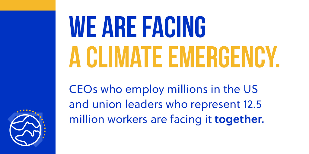 With #COP25 underway, we cannot lose collaborative spirit that built the #ParisAgreement. CEOs, of 75 companies and the @AFLCIO are recognizing this—and calling on their federal leadership to join