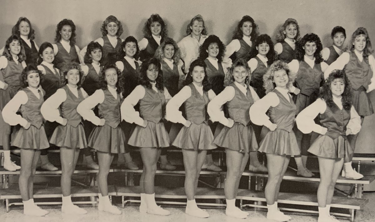 This week's Throwback Thursday visits the 1987 @FHSWarriorPride Warriorette Dance team. #TBT #FoxC6Strong