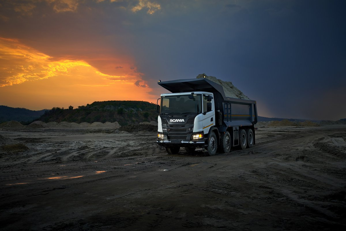 Scania targets construction and mining segments in India:   More:@ScaniaIndia   #trucksdekho #cardekho #commecialvehicles #automobiles #autotech #gaadi #zigwheels #bikedekho #trucks #truckdrivers #usedtrucks #buytrucks #pickup #fleet #transport