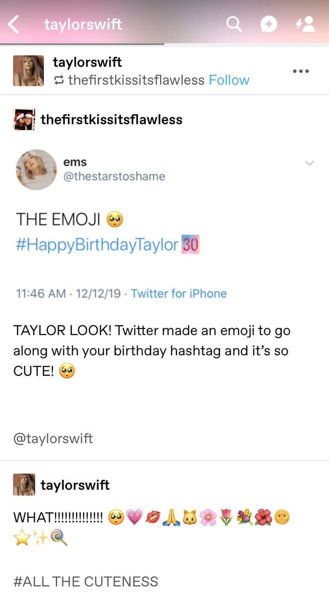 Taylor Swift News On Twitter Tu Taylor Reblogged This Post About Her Happybirthdaytaylor Emoji On Twitter What Allthecuteness Https T Co 1fuj0dmsek Последние твиты от taylor swift (@taylorswift_24). taylor swift news on twitter tu