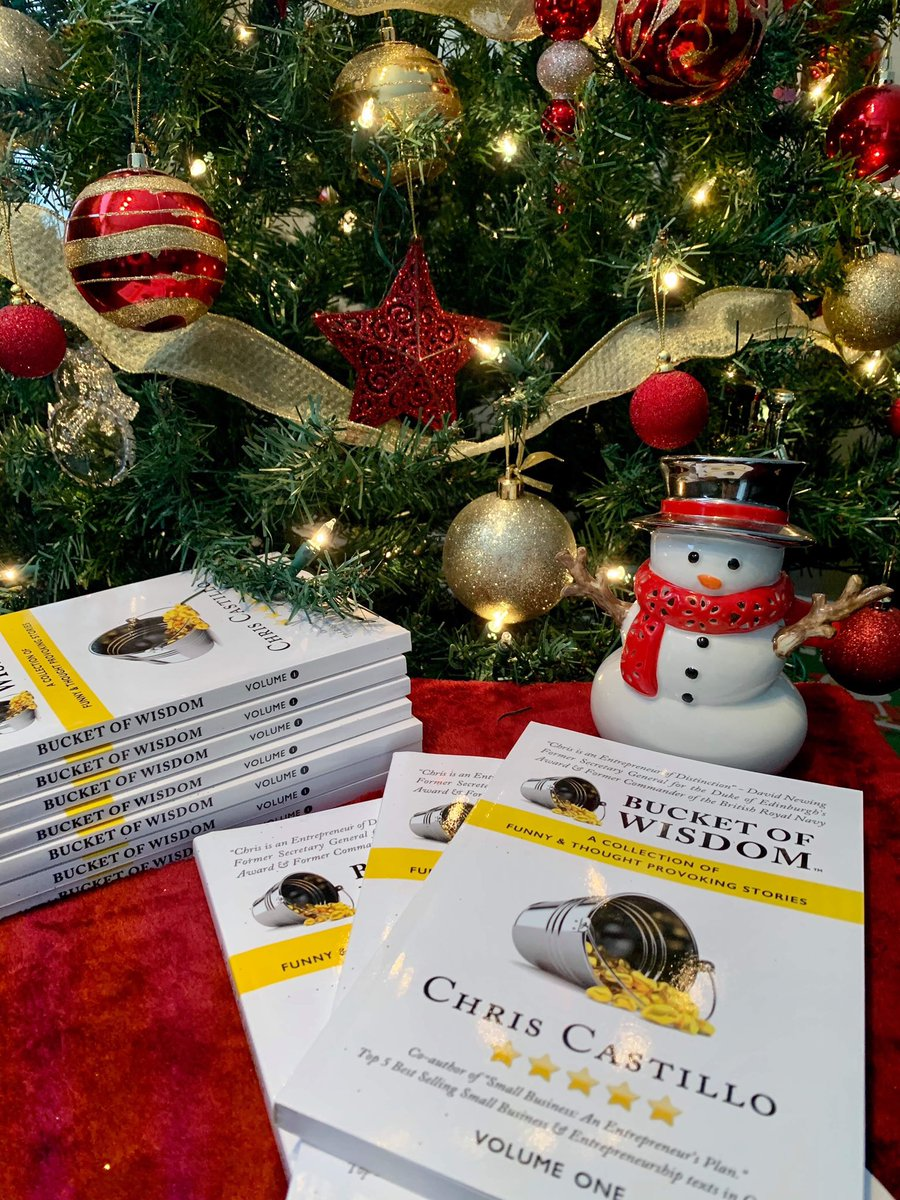 Do you have an entrepreneur on your list this Christmas?  Give them a book full of Business and Life wisdom that will help them succeed in 2020.    Order your signed copy today through me or order a copy from Amazon.  https://t.co/ABmIjqmC16 https://t.co/Kaq9WlnmLG