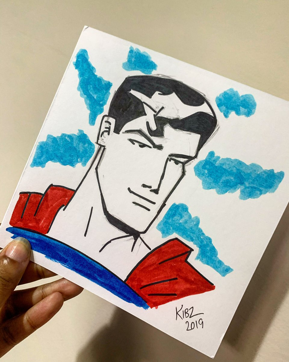 Thank you for the SUPER Christmas card @kiblaahmedart  I love it! Yours is on the way!  #Superman #ChristmasCard<br>http://pic.twitter.com/uhtqvKFKG5