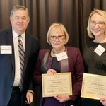 Image for the Tweet beginning: The Council recognized Diane Olson,